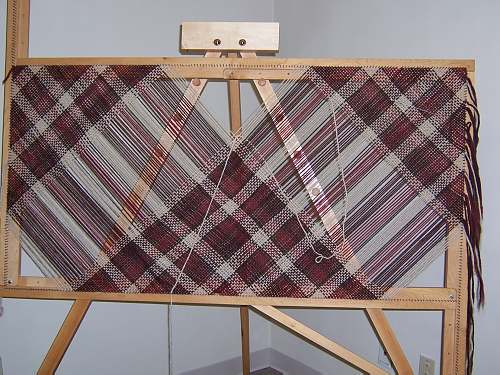 Projects Woven On The 5 Adjustable Square Loom